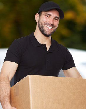 removals man in a baseball cap