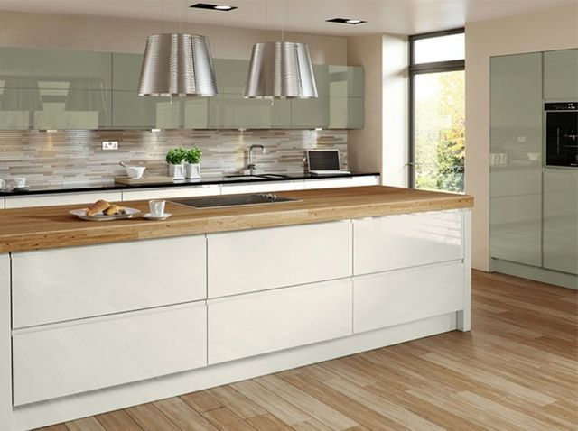 Contemporary shaker style kitchens