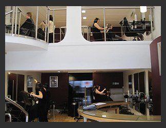 Unisex hair styling salon