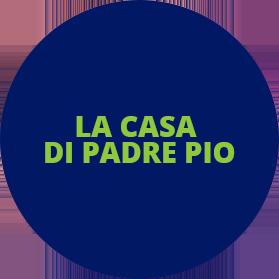 LA CASA DI PADRE PIO - LOGO