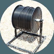 avvolgicavi e cavo elettrico