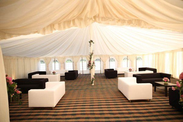 Marquee furniture provided by us