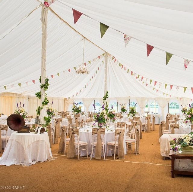 Stylish marquees and equipment for hire