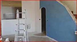 casa in fase di ristrutturazione