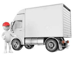 Delivery and collection van