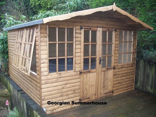 prices for all our summer houses potting sheds