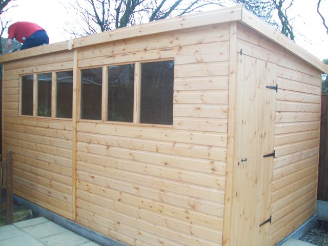 garden workshop - Garden Sheds Nottingham