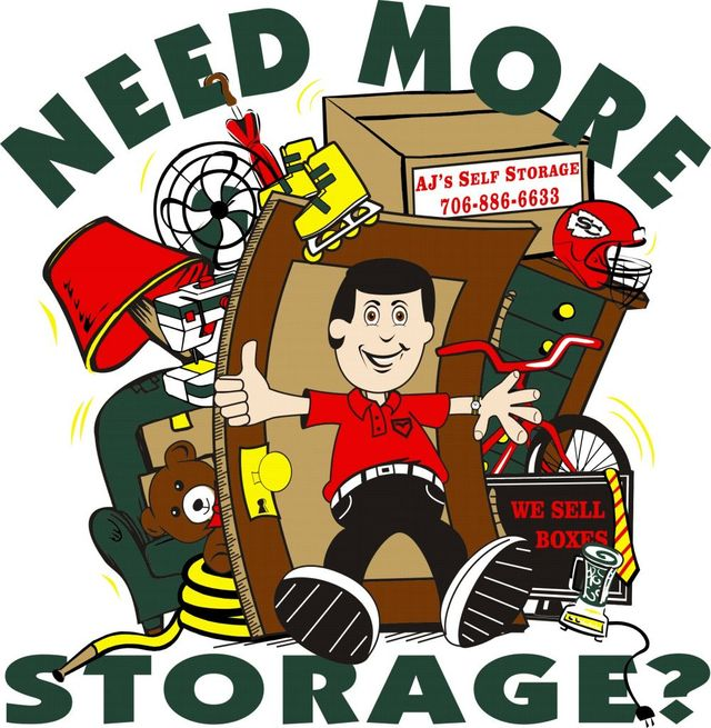 Storage space in Toccoa, GA