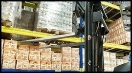 posizionamento merci verticale