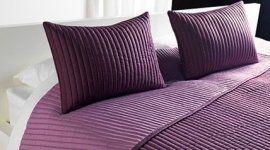 copriletto matrimoniale, cuscini, completi per il letto