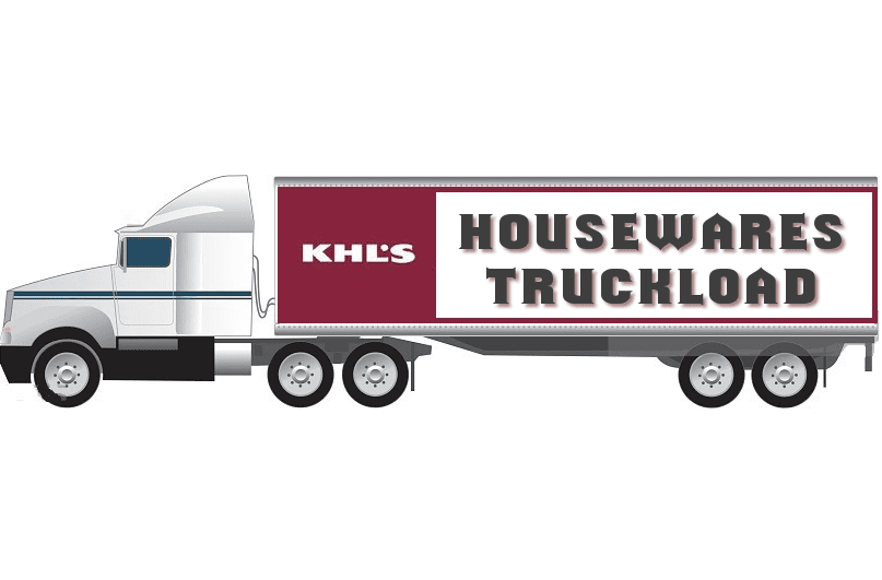 Kohls Housewares Truckload, Liquidation Housewares
