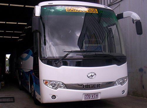 Repair done on large  bus by Watt