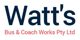 Watt bus & coach works logo