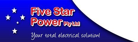 five star power logo
