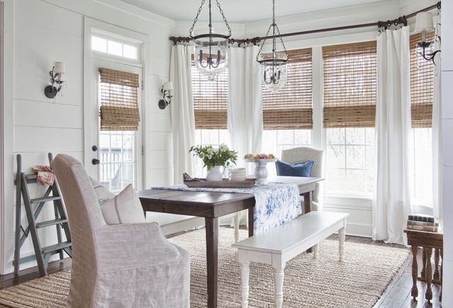 Window Treatment Ideas For Dining Rooms, Dining Room Window Treatments
