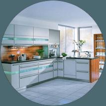 full kitchen fitting