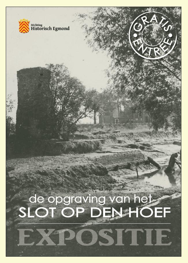 Poster opgraving Slot op den Hoef