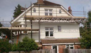 House scaffolding services