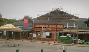 scaffolding for commercial properties