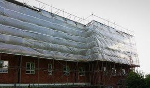 Temporary roofing covers