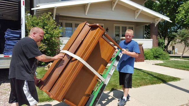Moving service by professionals in Sparta, WI