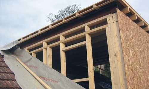 customised roof dormer structure