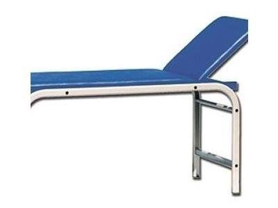 un lettino blu