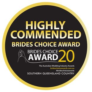 highly commended brides choice award 2020
