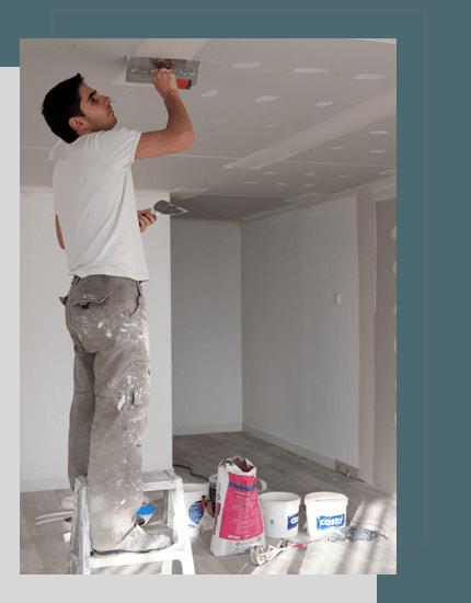 A plasterer