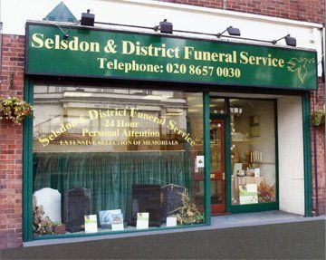 Selsdon & District Funeral Services store