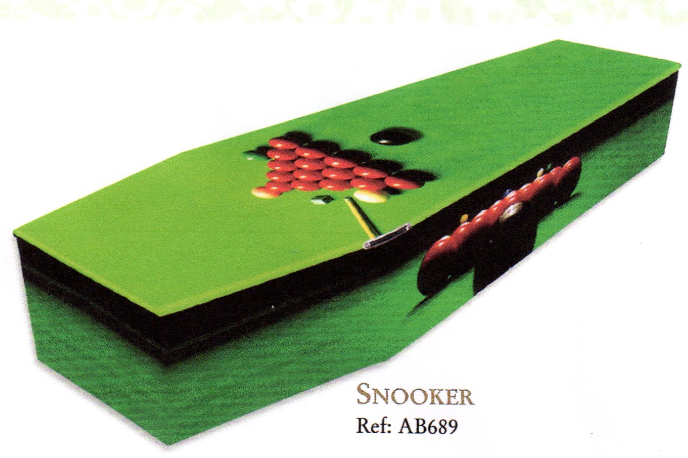 Snooker coffin