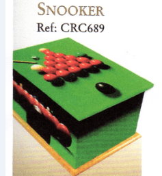 Snooker CRC689 coffin