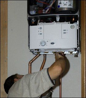Boiler and heating - Frog Island, Leicester - Electrapower - Boiler installation
