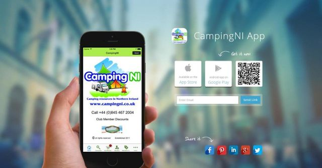 Download CampingNI Mobile App
