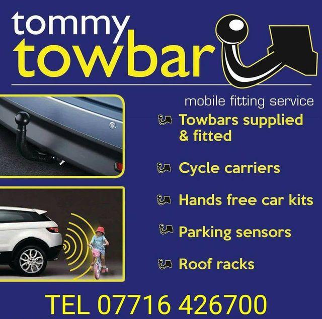 Tommy Towbar - CampingNI members discount