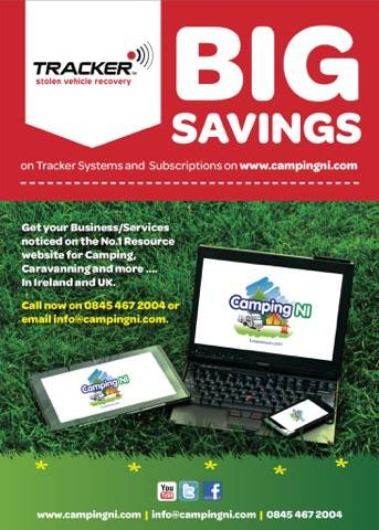 Tracker Deals with CampingNI