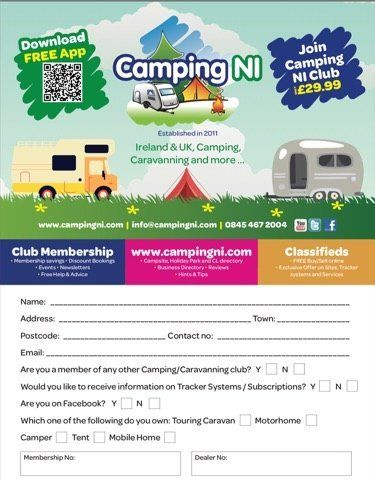 Join CampingNI Club