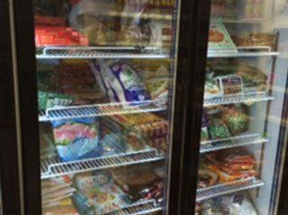 Frozen food sales