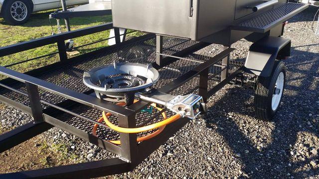 AJ's Custom Cookers has custom grills, smokers, fire pits