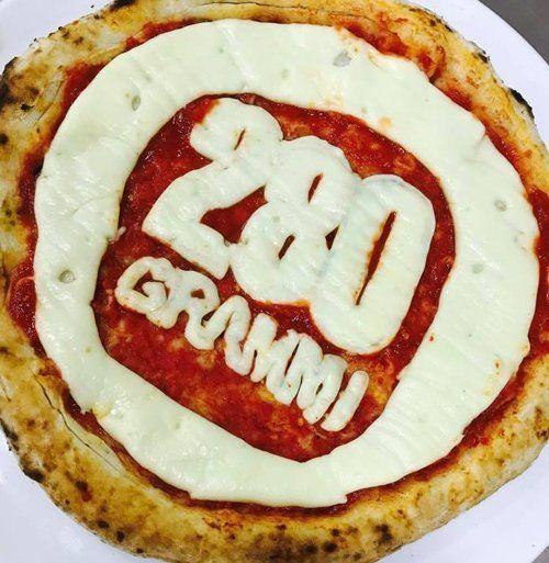 pizza 280 grammi