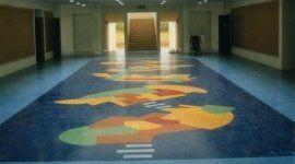pavimento per scuola