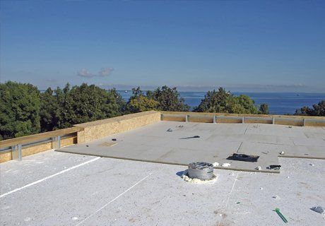 Flat roofing service