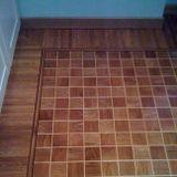 pavimento legno a scacchiera
