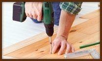 installazione listoni legno