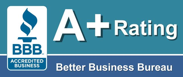 A+ Rating with BBB Better Business Bureau