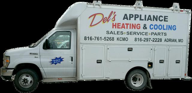 Del's Appliance Service Truck