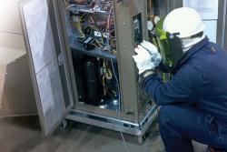 Commercial HVAC repair work