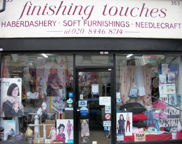 Cross stitch - London - Finishing Touches London Limited - Beads