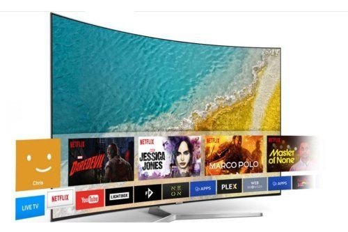 Curve Led tv
