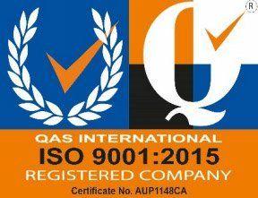 qas international iso 9001 registered company